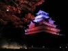 鶴ヶ城ライトアップ